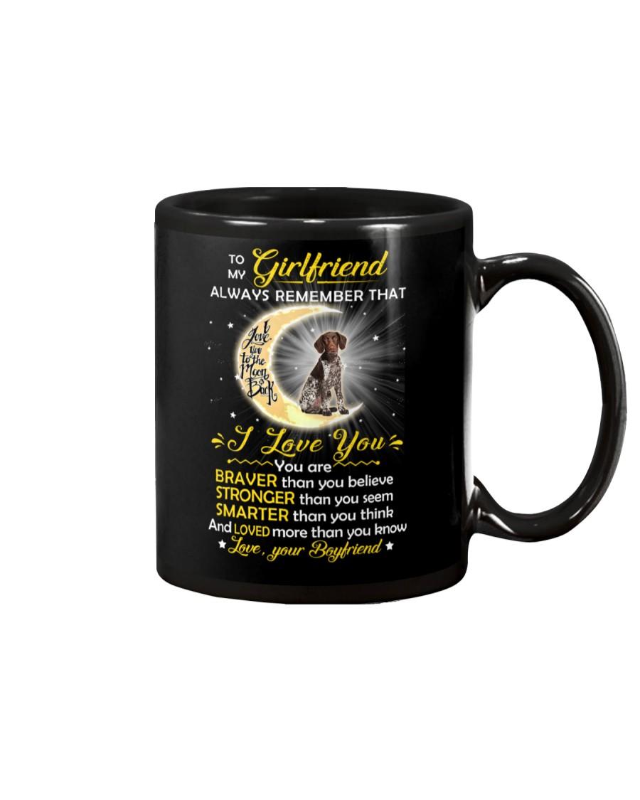 German Shorthaired Pointer Girlfriend  Mug