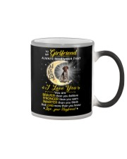 German Shorthaired Pointer Girlfriend  Color Changing Mug thumbnail