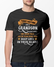 Family Nothing Like A Grandson Classic T-Shirt lifestyle-mens-crewneck-front-13