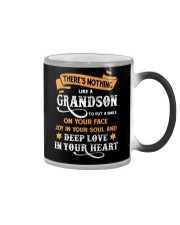 Family Nothing Like A Grandson Color Changing Mug tile