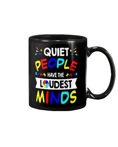 Quiet People Have The Loudest Minds autism