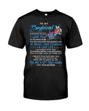 Turtle Boyfriend I'm Always With You Classic T-Shirt thumbnail