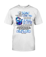 Otter Son Dad I'm Always With You Classic T-Shirt thumbnail