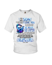 Otter Son Dad I'm Always With You Youth T-Shirt thumbnail