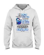 Otter Son Dad I'm Always With You Hooded Sweatshirt thumbnail