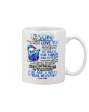 Otter Son Dad I'm Always With You Mug front
