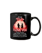 To My Wife I love You In The Morning Family  Mug front