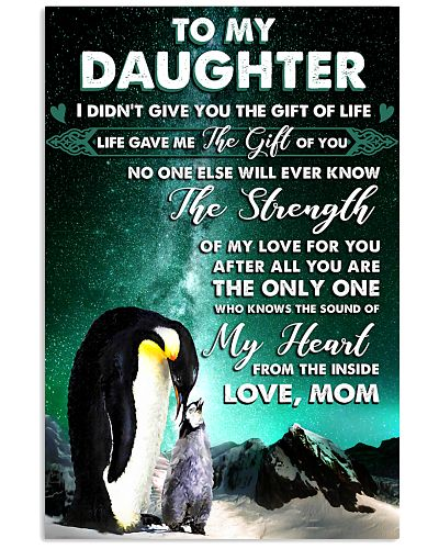 I Didn't Give You The Gift Of Life Penguin