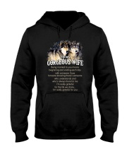 Being Married To You Wolf Wife Hooded Sweatshirt thumbnail