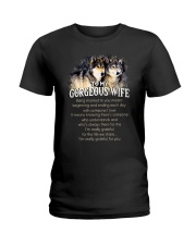 Being Married To You Wolf Wife Ladies T-Shirt thumbnail
