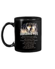 Being Married To You Wolf Wife Mug back