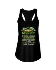 My Best Friend My Love Bug Turtle  Ladies Flowy Tank thumbnail