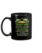 My Best Friend My Love Bug Turtle  Mug back