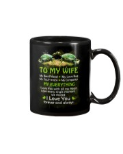 My Best Friend My Love Bug Turtle  Mug front