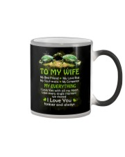 My Best Friend My Love Bug Turtle  Color Changing Mug thumbnail