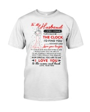 Family Husband The Clock The Moon Classic T-Shirt thumbnail