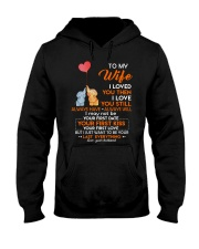 I Love You Still Always Have Always Will Elephant  Hooded Sweatshirt thumbnail