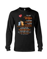 I Love You Still Always Have Always Will Elephant  Long Sleeve Tee thumbnail