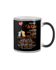I Love You Still Always Have Always Will Elephant  Color Changing Mug thumbnail