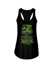 Thank You For Being A Great Life Partner Turtle  Ladies Flowy Tank thumbnail