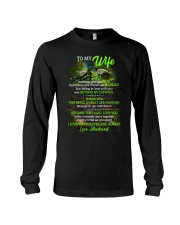 Thank You For Being A Great Life Partner Turtle  Long Sleeve Tee thumbnail