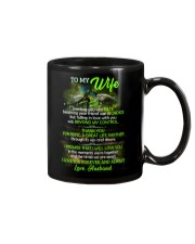 Thank You For Being A Great Life Partner Turtle  Mug front