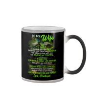 Thank You For Being A Great Life Partner Turtle  Color Changing Mug thumbnail