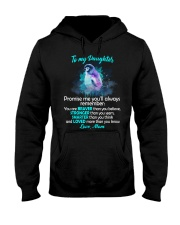 You Are Braver Than You Believe Penguin Hooded Sweatshirt thumbnail