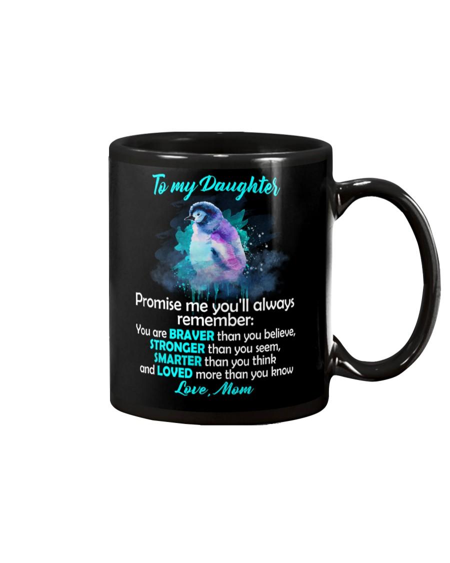 You Are Braver Than You Believe Penguin Mug