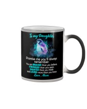 You Are Braver Than You Believe Penguin Color Changing Mug thumbnail