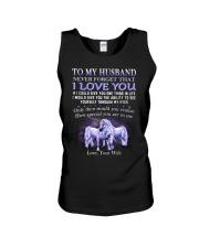 Never Forget That I Love You Unicorn Husband Unisex Tank thumbnail