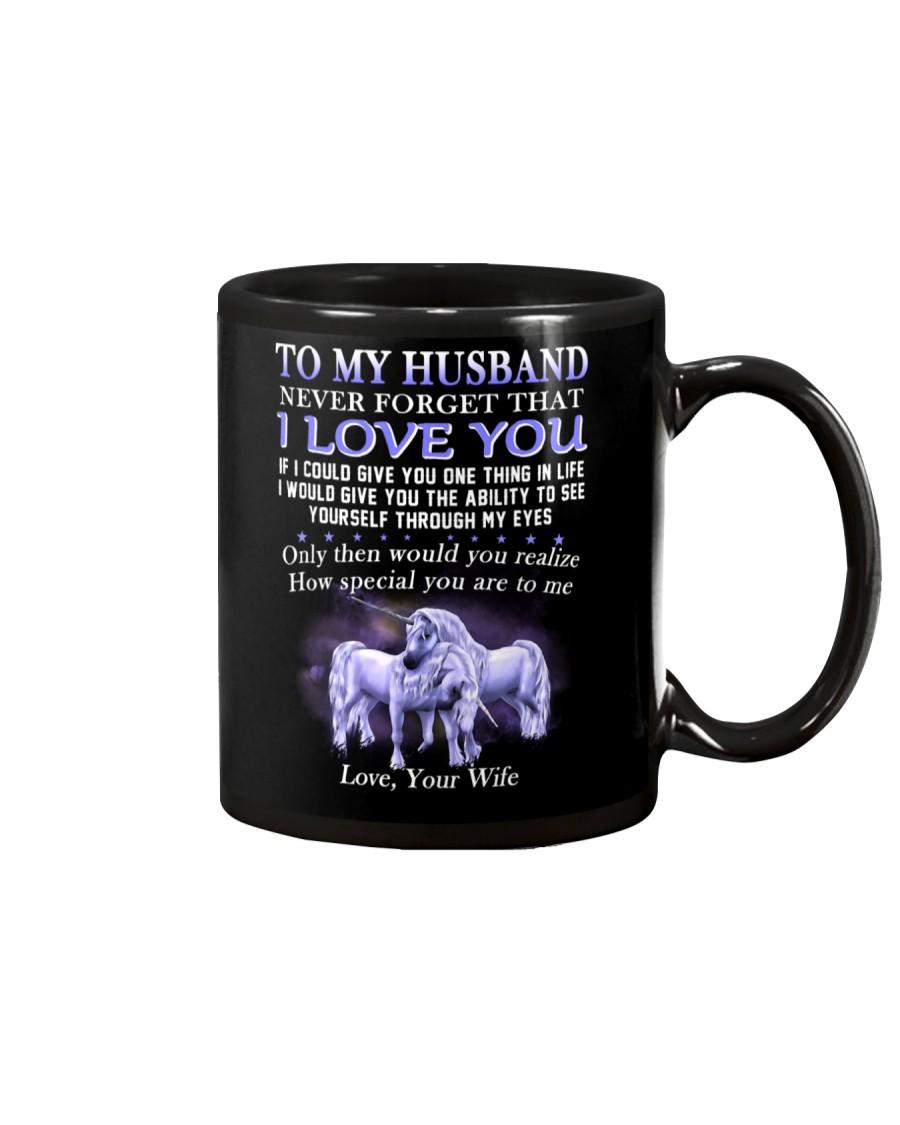 Never Forget That I Love You Unicorn Husband Mug