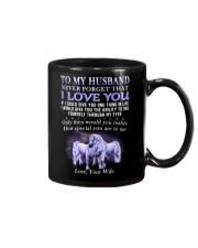 Never Forget That I Love You Unicorn Husband Mug front