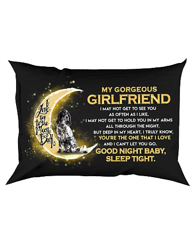Setter Girlfriend Sleep Tight