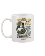 To My Daughter You Are A Shining Example Unicorn Mug back