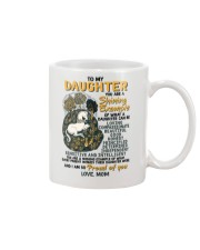 To My Daughter You Are A Shining Example Unicorn Mug front