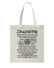Viking Daughter Dad Three Things Mug Tote Bag thumbnail