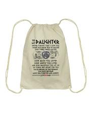 Viking Daughter Dad Three Things Mug Drawstring Bag thumbnail