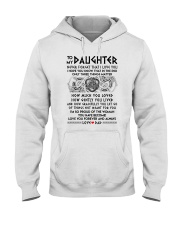 Viking Daughter Dad Three Things Mug Hooded Sweatshirt thumbnail