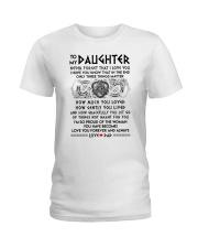 Viking Daughter Dad Three Things Mug Ladies T-Shirt thumbnail