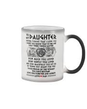 Viking Daughter Dad Three Things Mug Color Changing Mug thumbnail