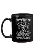 Hunting Boyfriend I Love You Mug back