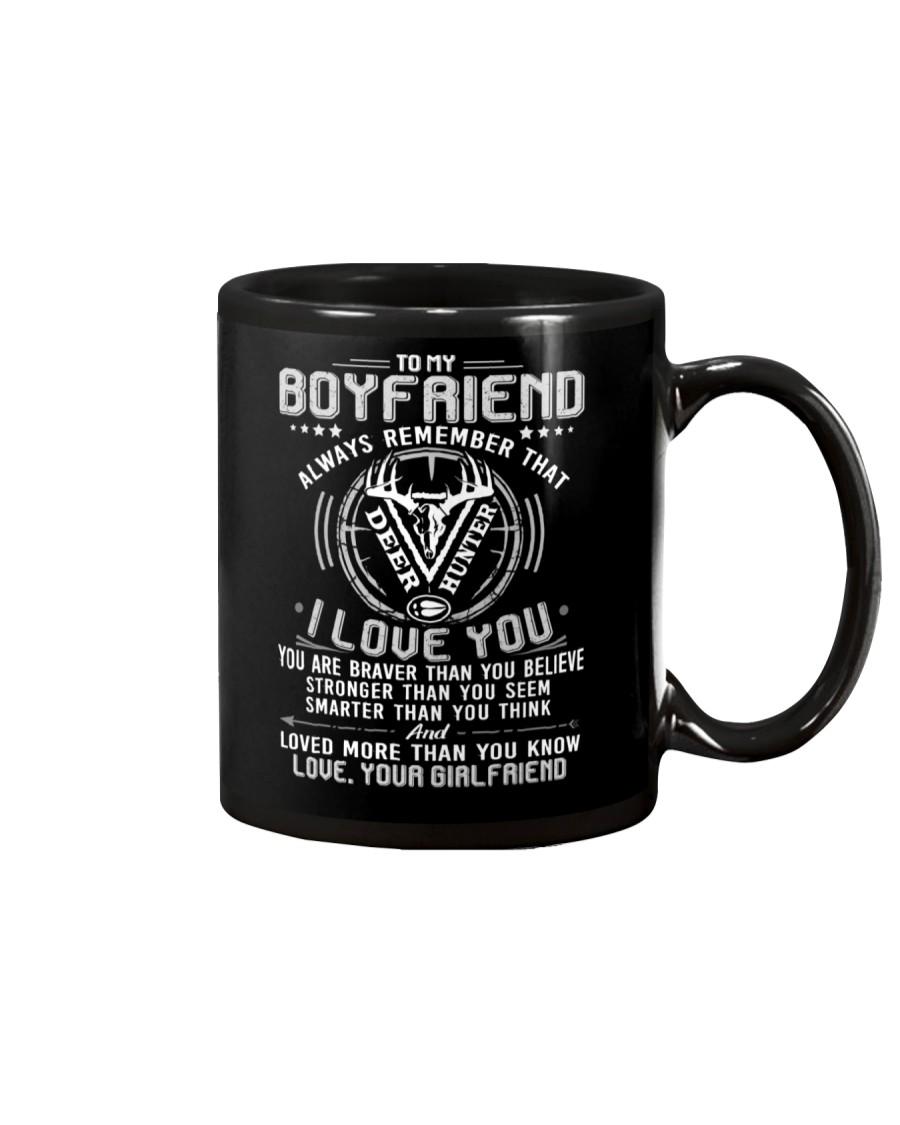 Hunting Boyfriend I Love You Mug