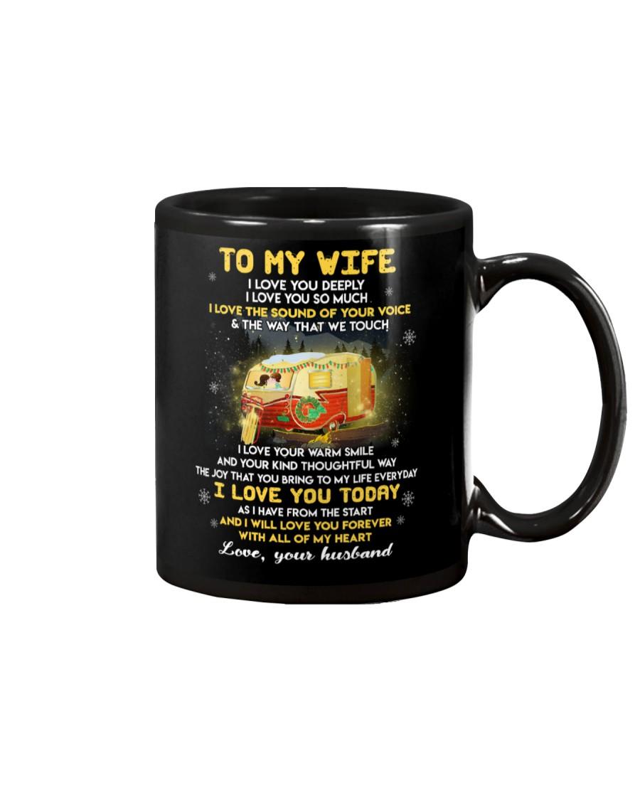 I Love You Deeply Camping Mug