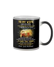 I Love You Deeply Camping Color Changing Mug thumbnail