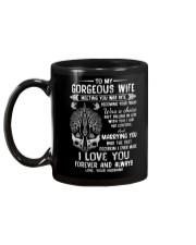 Meeting You Was Fate Wolf Mug back