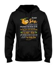 Sloth Son Last Breath To Say Love  Hooded Sweatshirt tile