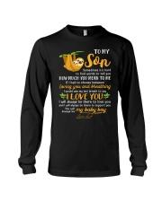 Sloth Son Last Breath To Say Love  Long Sleeve Tee tile