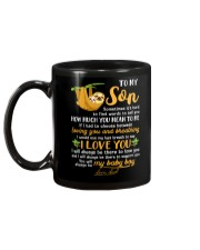 Sloth Son Last Breath To Say Love  Mug back