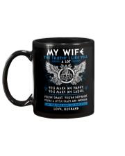 Viking Wife The Truth Mug back